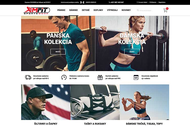 MFIT - eshop Under Armour Slovensko